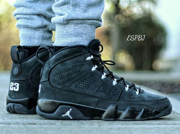 Air Jordan 9 Anthracite - @espbj