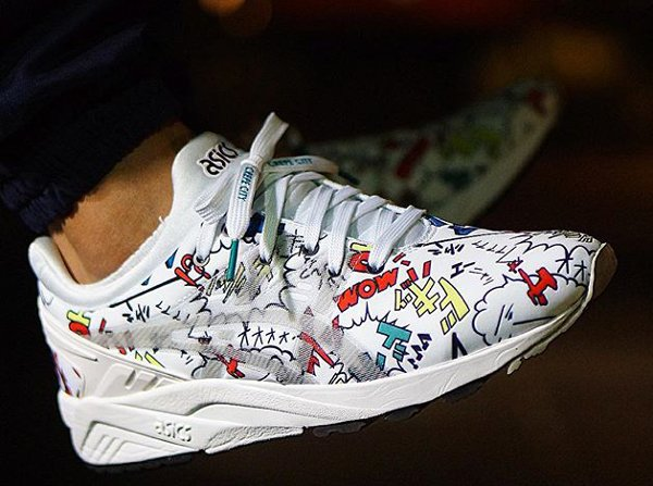 asics tiger evo comic