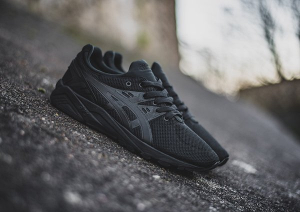 Asics Gel Kayano Evo Monochrome 'Triple Black'