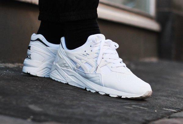 asics blanche gel kayano