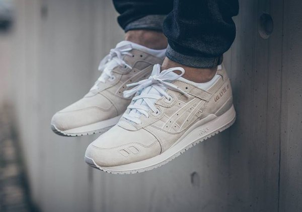 asics gel lyte iii rose gold