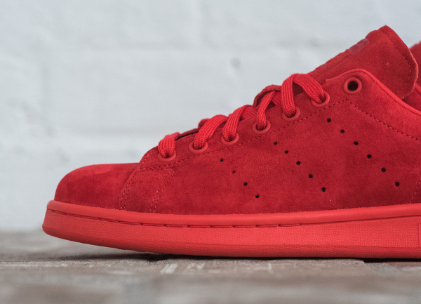 adidas stan smith homme rouge