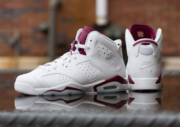 Air Jordan 6 Retro Maroon 'Nike Air' 2015