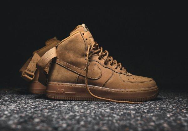 Basket Nike Air Force One Hi 07 LV8 Flax Wheat (1-1)