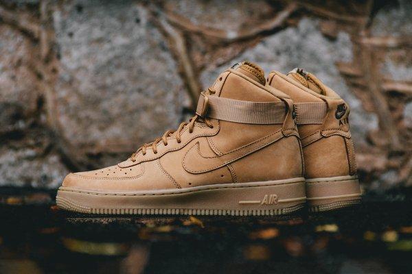 Basket Nike Air Force One Hi 07 LV8 Flax Wheat (1)