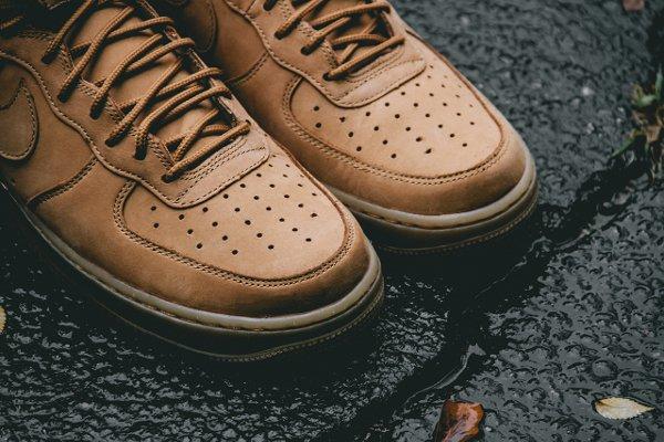 Basket Nike Air Force One Hi 07 LV8 Flax Wheat (4-1)