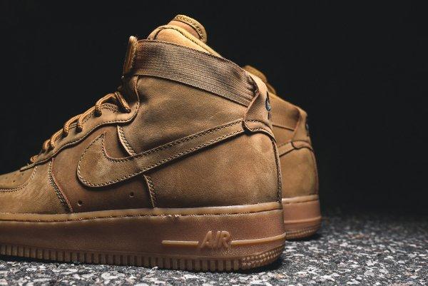 Basket Nike Air Force One Hi 07 LV8 Flax Wheat (5)
