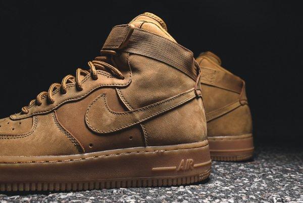 Basket Nike Air Force One Hi 07 LV8 Flax Wheat (6)