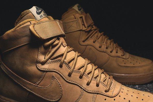 Basket Nike Air Force One Hi 07 LV8 Flax Wheat (7)