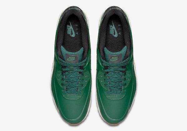 Basket Nike Air Max 90 Vac Tech verte avec semelle en gomme (7)