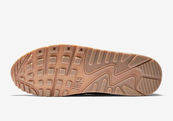 Basket Nike Air Max 90 Vac Tech verte avec semelle en gomme (9)