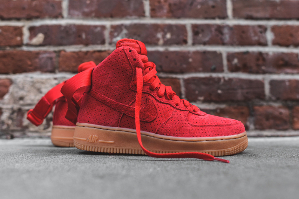 nike air force 1 high rouge