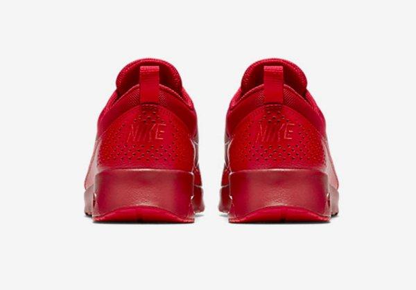 Basket Nike Wmns Air Max Thea rouge pour femme (10)