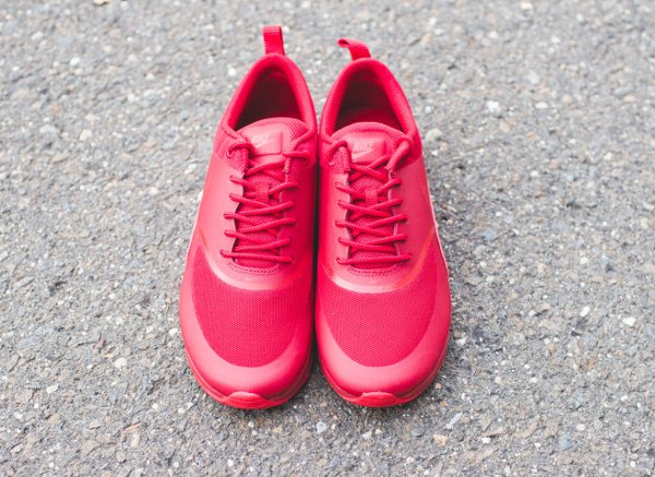 Basket Nike Wmns Air Max Thea rouge pour femme (5)