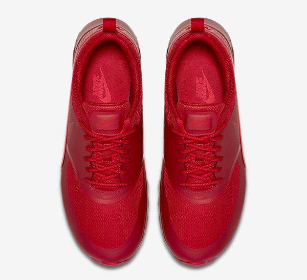 Basket Nike Wmns Air Max Thea rouge pour femme (7)