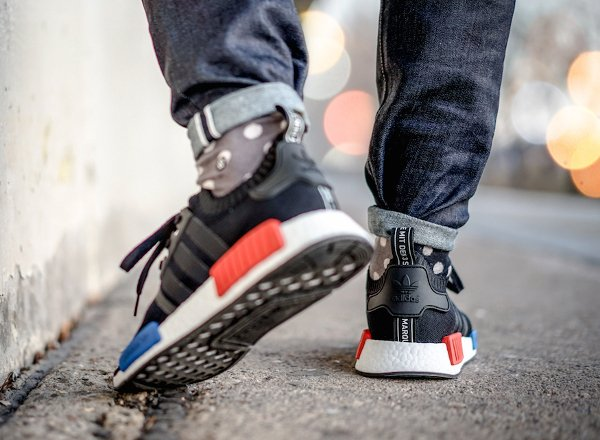 Chaussure Adidas NMD Boost Runner_1 PK noire (14)