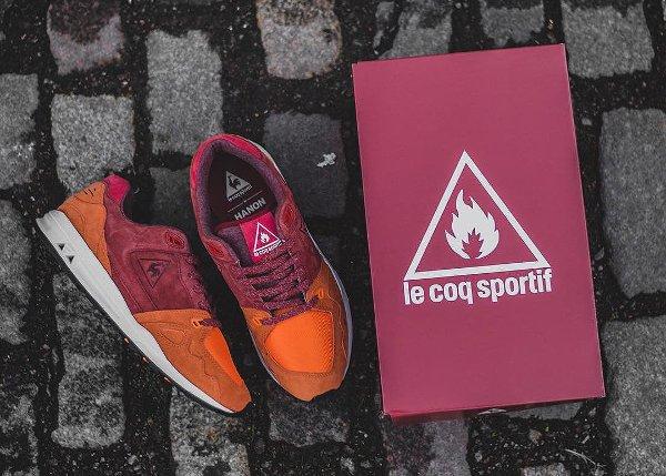 Hanon x Le Coq Sportif LCS R1000 Burnt Henna (1)
