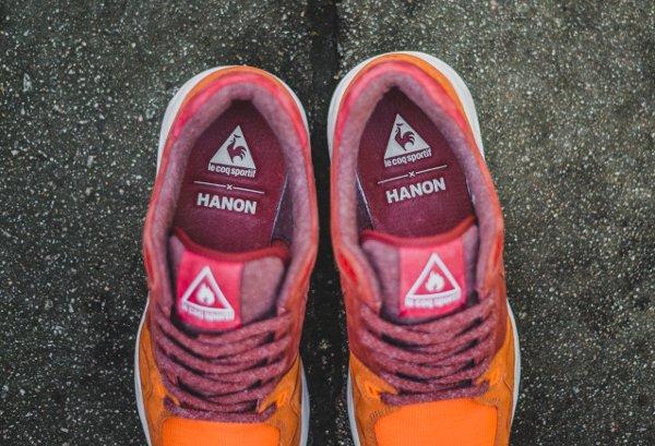 Hanon x Le Coq Sportif LCS R1000 Burnt Henna (11)