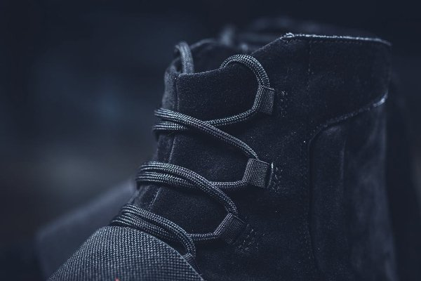 Kanye West x Adidas Yeezy 750 Suede 'Triple Black'