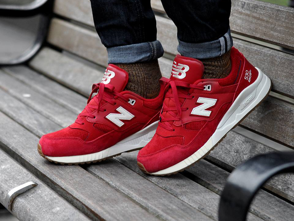 new balance rouge pas chere