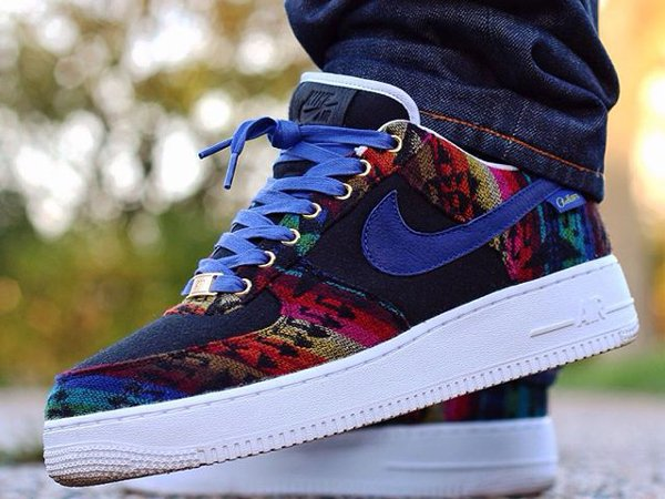 Nike Air Force 1 ID Pendleton Warm & Dry (@elogary95)