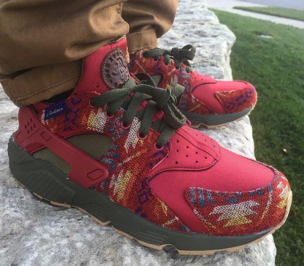 Nike Air Huarache ID Pendleton Warm & Dry (@spense2)