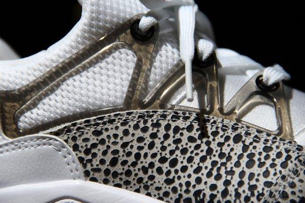 Nike Air Huarache Light Safari Black White (femme) (4)