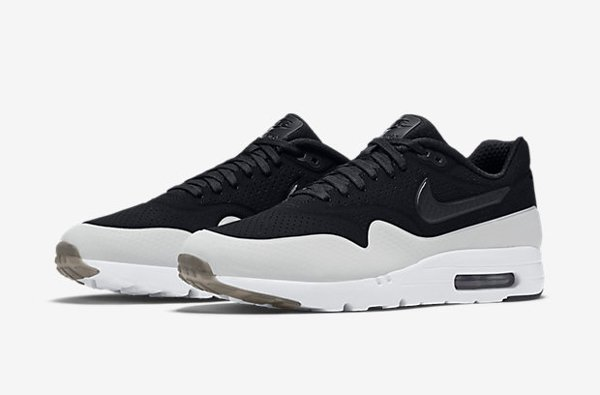 Nike Air Max 1 Ultra Moire blanche et moire (3)