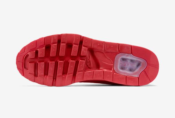 Nike Air Max 1 Ultra Moire cuir perforé rouge (3)
