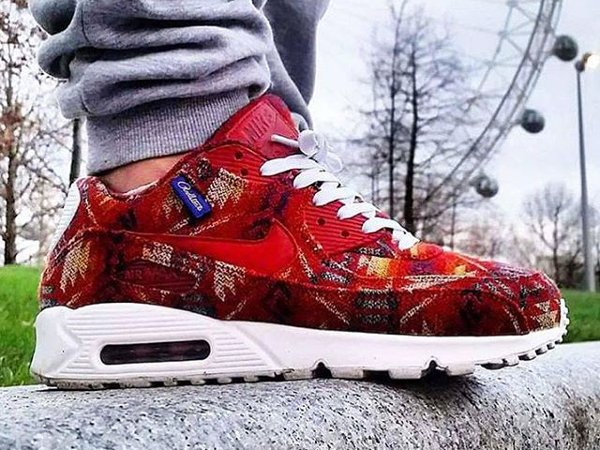 Nike Air Max 90 ID Pendleton Warm & Dry (@joshy_joshman) (1)
