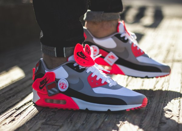 Nike Air Max 90 Infrared Patch - Joelom