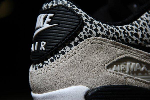 Nike Air Max 90 Safari White Black-Gum Light Brown (4)