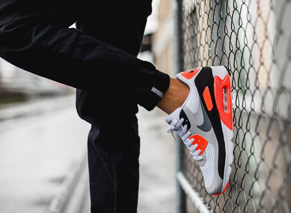 Nike Air Max 90 Ultra Essential OG Infrared pas cher (8)
