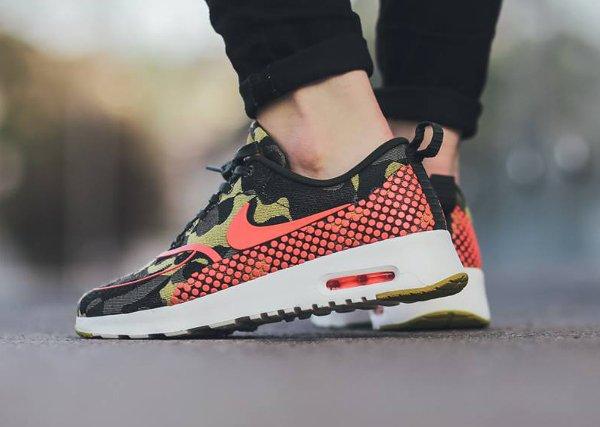 Nike Air Max Thea Jacquard Desert Camo Polka Dot