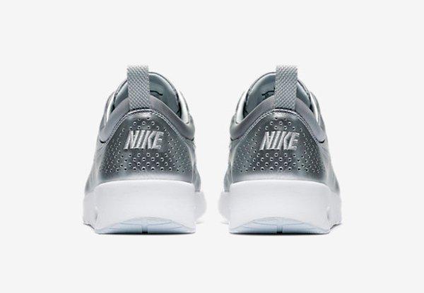 Nike Air Max Thea PRM Metallic Silver pa cher pour femme (10)