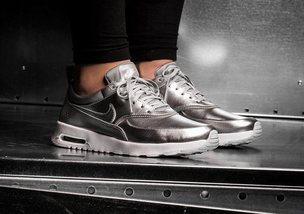 nike air max thea femme argent