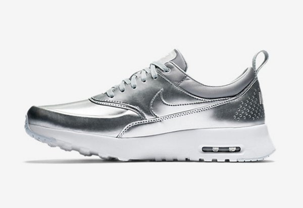 Nike Air Max Thea PRM Metallic Silver pa cher pour femme (6)