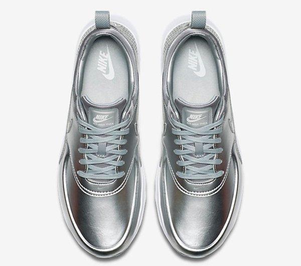 Nike Air Max Thea PRM Metallic Silver pa cher pour femme (9)