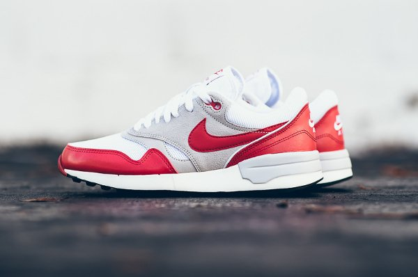 Nike Air Odyssey White University Red (Air Max 1 OG) (1)