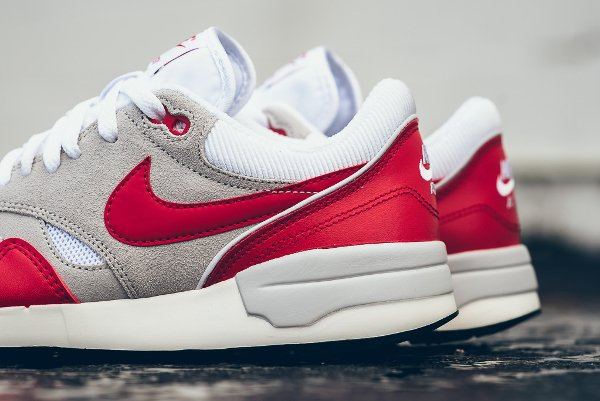 Nike Air Odyssey White University Red (Air Max 1 OG) (2)