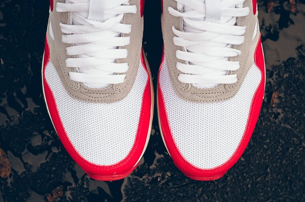 Nike Air Odyssey White University Red (Air Max 1 OG) (5)
