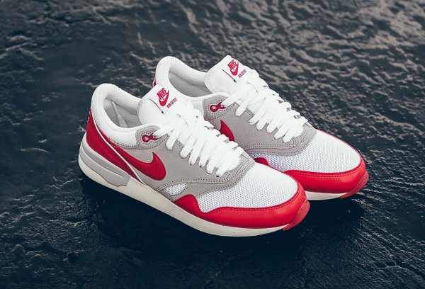 Nike Air Odyssey White University Red (Air Max 1 OG) (9)