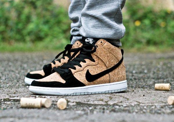 Nike Dunk High SB Cork - Sebastian F. Morgner