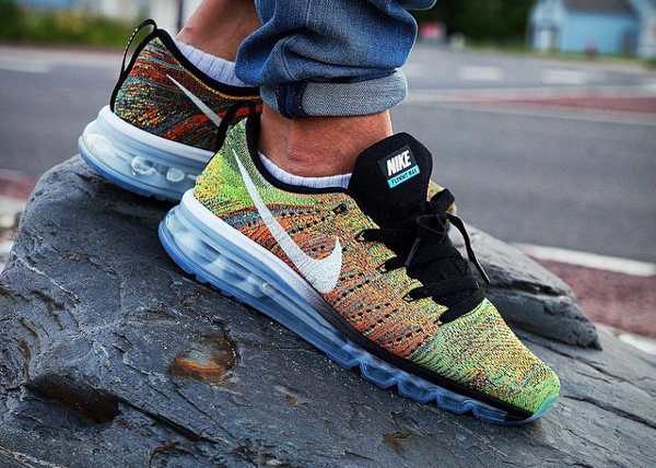 new arrival 88829 9d549 wholesale nike air max flyknit 2015 multicolor a023b 7f522