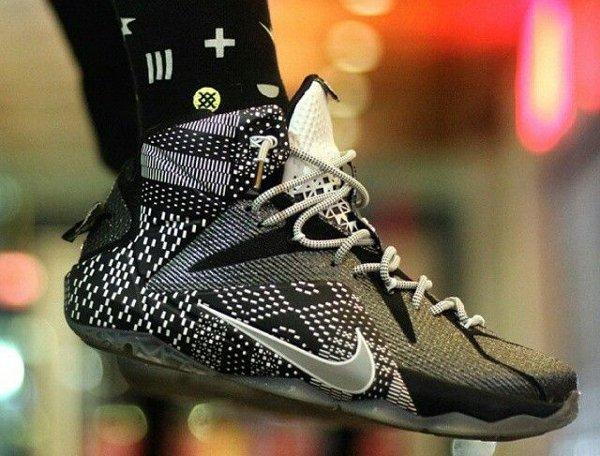 Nike Lebron 12 BHM - @@the_original_fresh