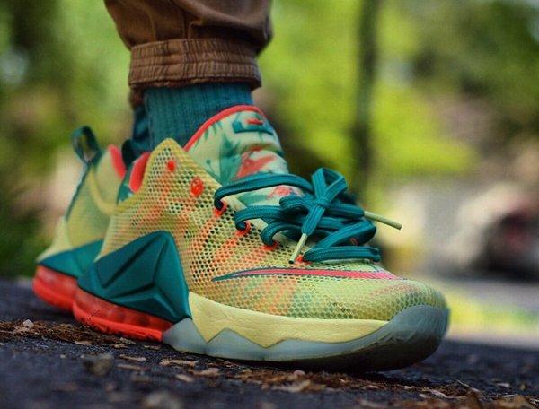 Nike Lebron 12 Low Lebronold Palmer - @ts.sneakers