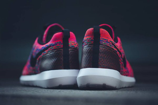 Nike Roshe Flyknit NM SE Multicolor Bright Crimson pas cher (11)