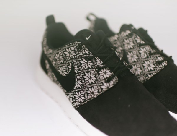 Nike Roshe One Winter Black Sail (6)