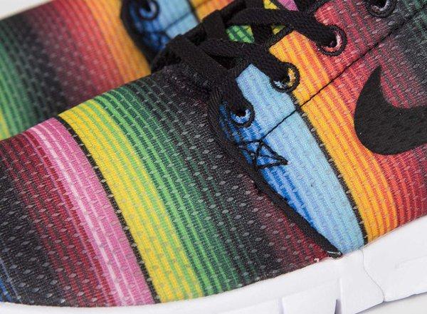 Nike SB Janoski Max Premium Tide Pool Blue Black True Yellow (11)