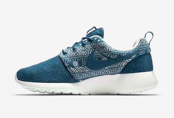 Nike Wmns Roshe One Winter Brigade Blue (3)
